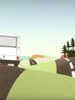 Image du clip vidéo de la chanson 'Se Projeter' du groupe KES