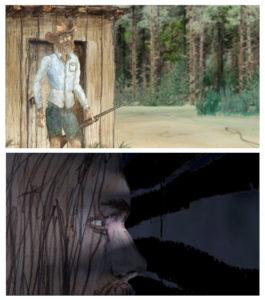 Images tirée du film Dead Wood d'Antoine Aubin