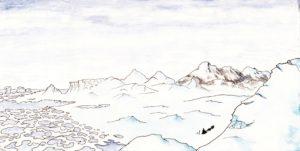 Illustration extraite du livre Papouk le Pizzly