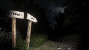 Image extraite du premier niveau du jeu vidéo d'horreur Phobos Project