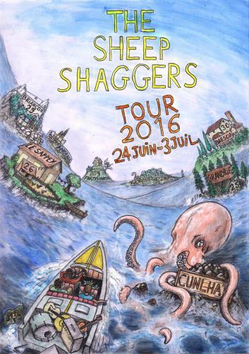 Affiche The Sheep Shaggers Tour 2016