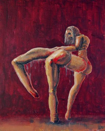 Antoine Aubin - Danseuse